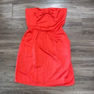 SALE! Everly Strapless Dress, Size Large
